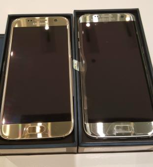 NEW SAMSUNG GALAXY S7 32GB SINGLE SIM GOLD FACTORY UNLOCKED