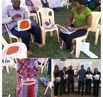 Part time graduates and undergraduates  training in Kenya