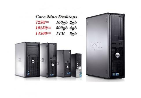 Simple Desktop Computers {cpu only}Core 2duo n Duo Core