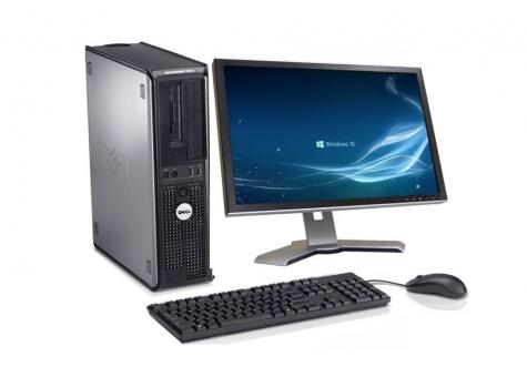 COMPLETE PC with19 inches TFT Monitor keyboard and mouse