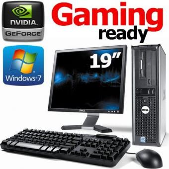 SIMPLE Desktop 1GB Nvidia geforce COMPLETE with 19 INCH TFT