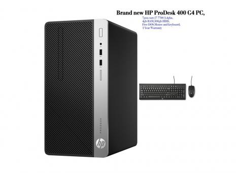 New HP ProDesk Desktop PC with 18inch TFT monitor