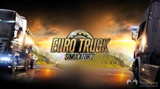 Euro Truck Simulator 2 Laptop/Desktop Computer Game.