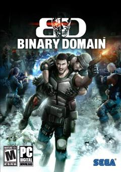 Binary Domain Laptop/Desktop Computer Game.