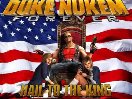 Duke Nukem Forever Laptop/Desktop Computer Game.